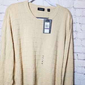 Van Heusen Grandpa Chunky Sweater NWT